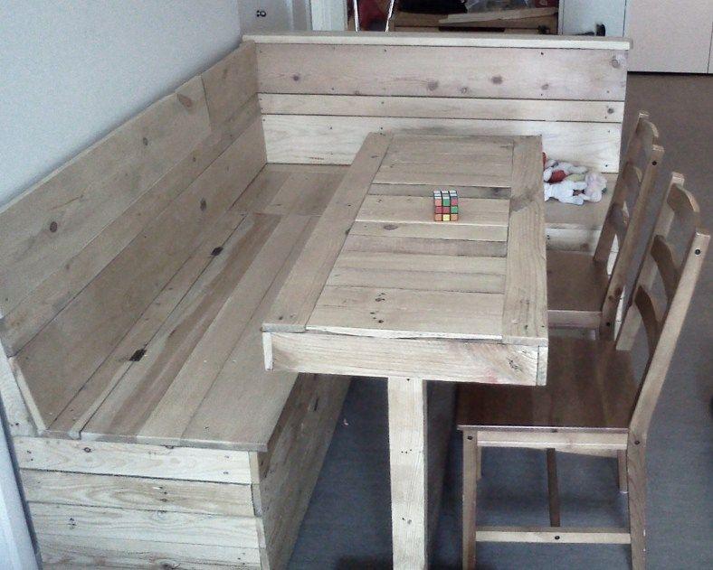 kitchen table and corner bench kmart appliances with storage measurements nook flip up lids for dining room