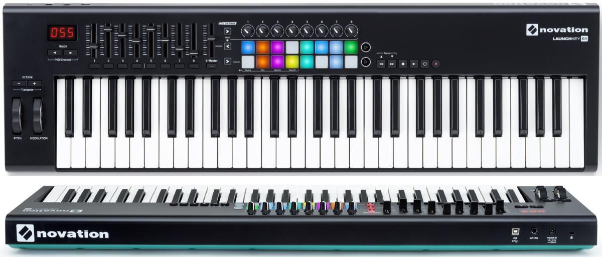 Novation Launchkey 61 MK2 | midi/piano | Keyboard, Midi