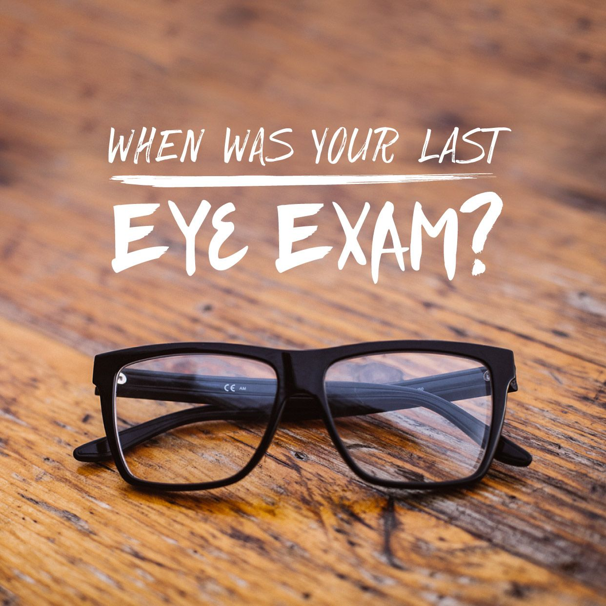IS YOUR NEXT EYE EXAM SCHEDULED? Eye exams are essential to preventing disease and keeping your eyes healthy! Call today or go online to schedule your exam.