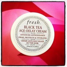 Fresh Black Tea Age Delay Cream 0.67oz/20ml * You can get more details here : Travel Skincare
