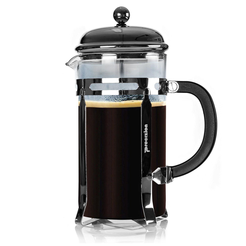 French Press 34oz Coffee Espresso and Tea Maker Includes 6 Filters