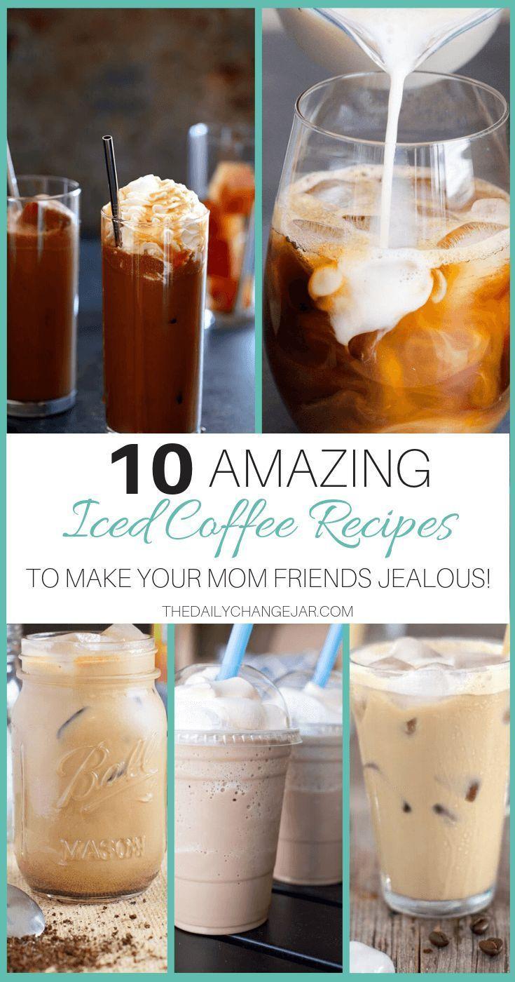 Eiskaffee-10 günstige und köstliche Rezepte - Die Daily Change Jar   - Cheap Meals for Families -