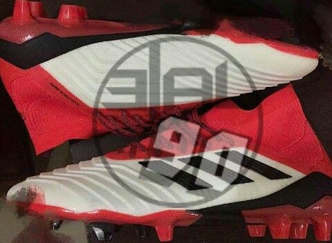 Adidas Predator 18 White/ Red/ Black
