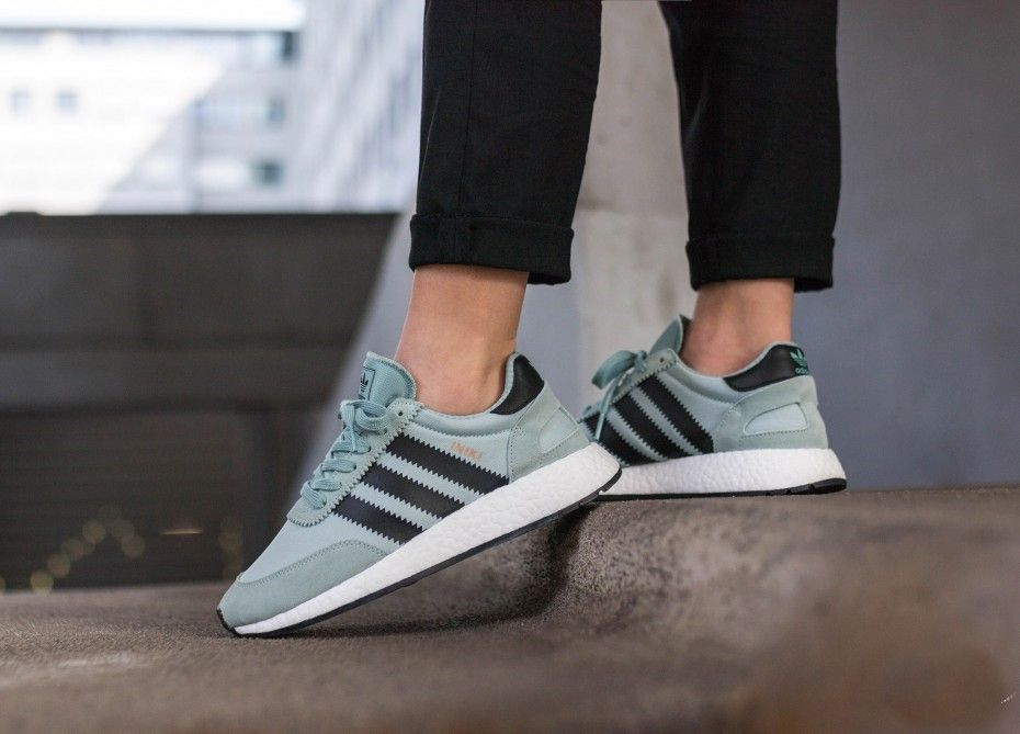 9c83bb24ca9 adidas Iniki Runner Tactile Green Womens BY9096
