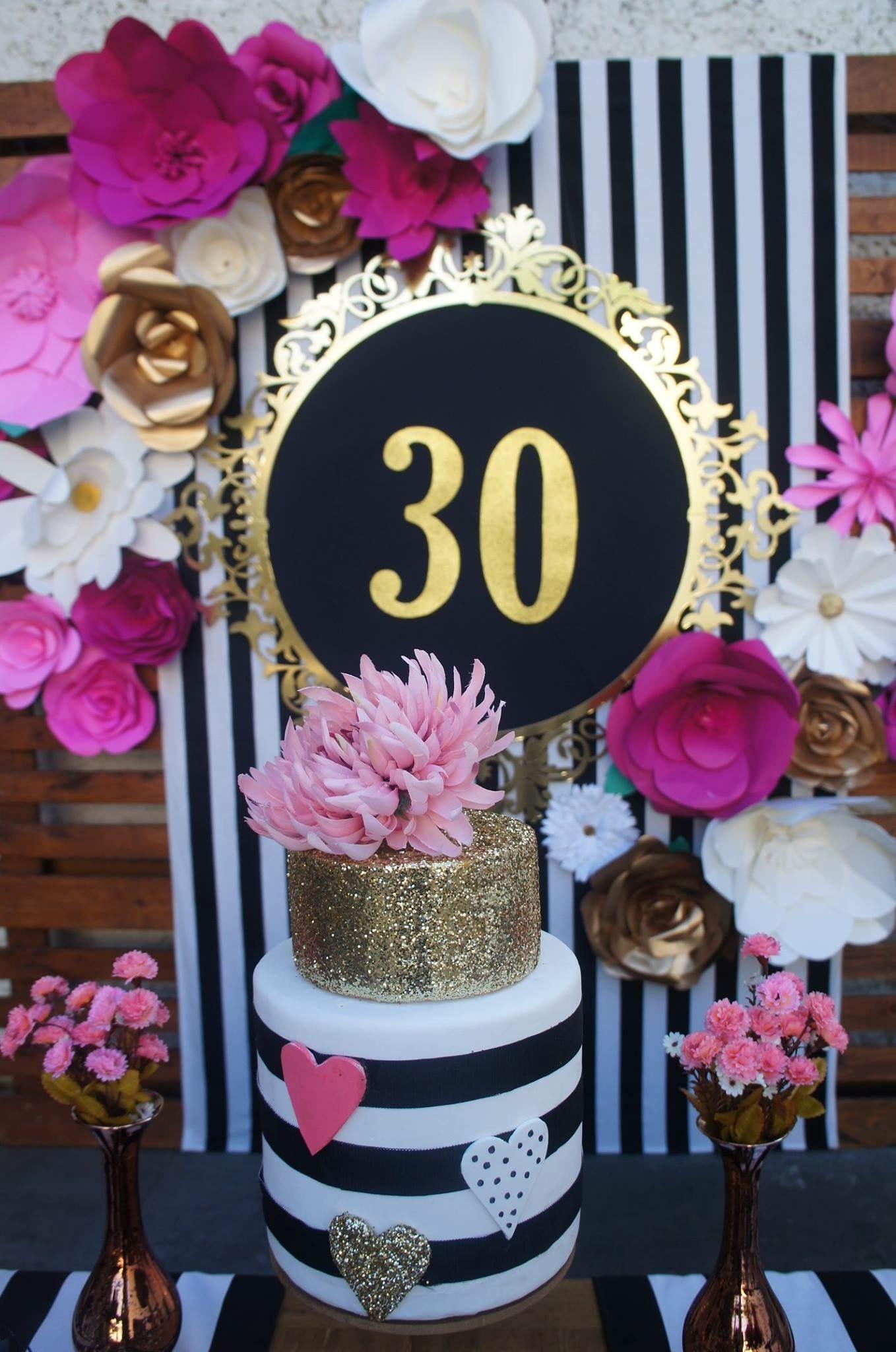 Fiesta f pinterest fiestas cumplea os y cumple for Decoracion 30 cumpleanos