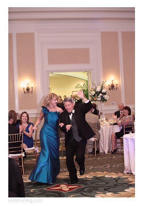 Reception Parents Of The Bride Introduction Blue Dress Party Carolina Wedding SongsHotel