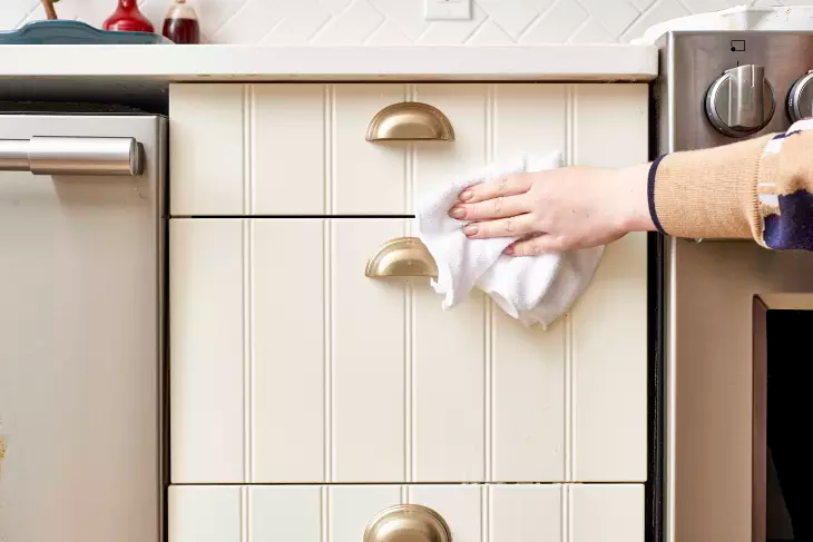 How To Get Sticky Cooking Grease Off Cupboards   Cupboard ...