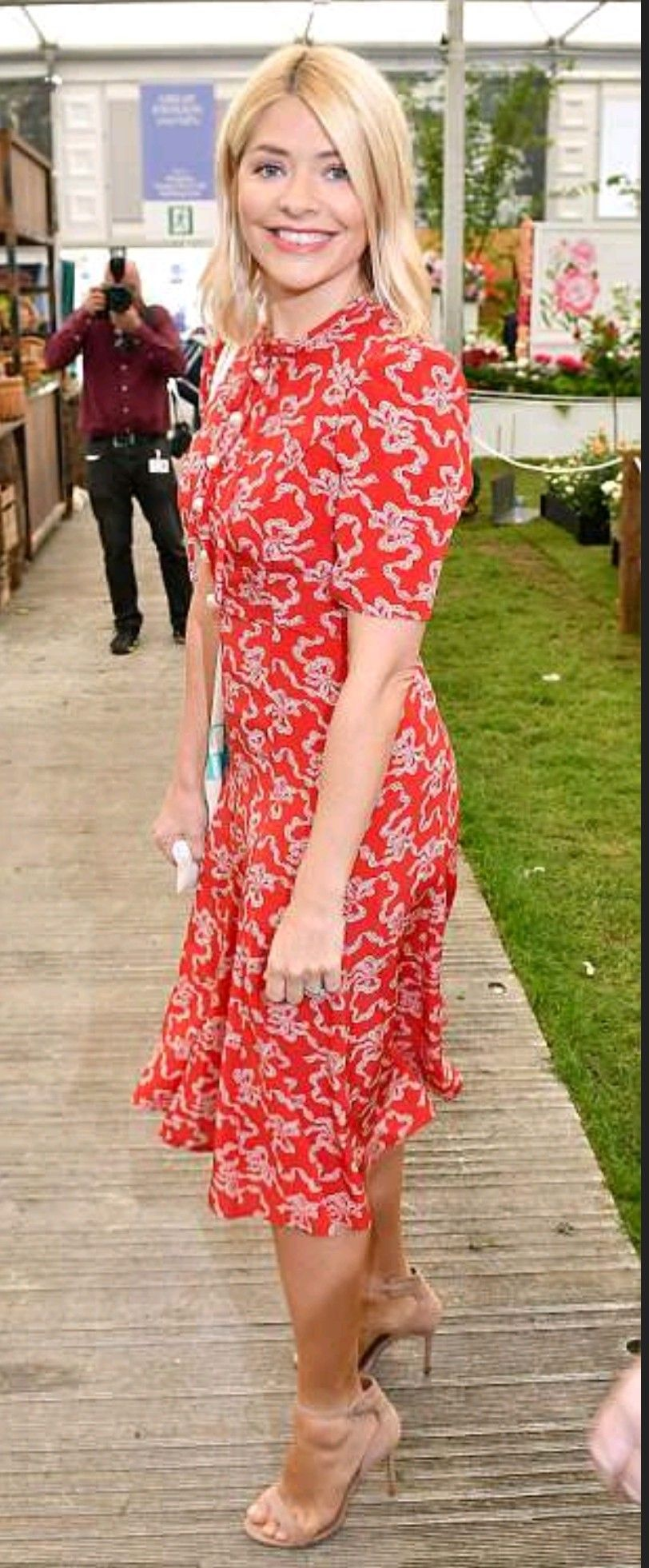 Holly Willoughby Holly willoughby, Chelsea flower show