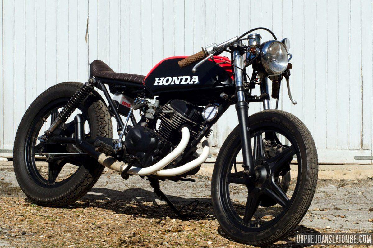Une Honda Cb 125 Twin Cafe Racer à La Sauce Vini Garage Company