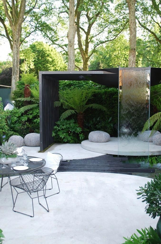 Chelsea Flower Show Water Features 2019 Google Search Moderne