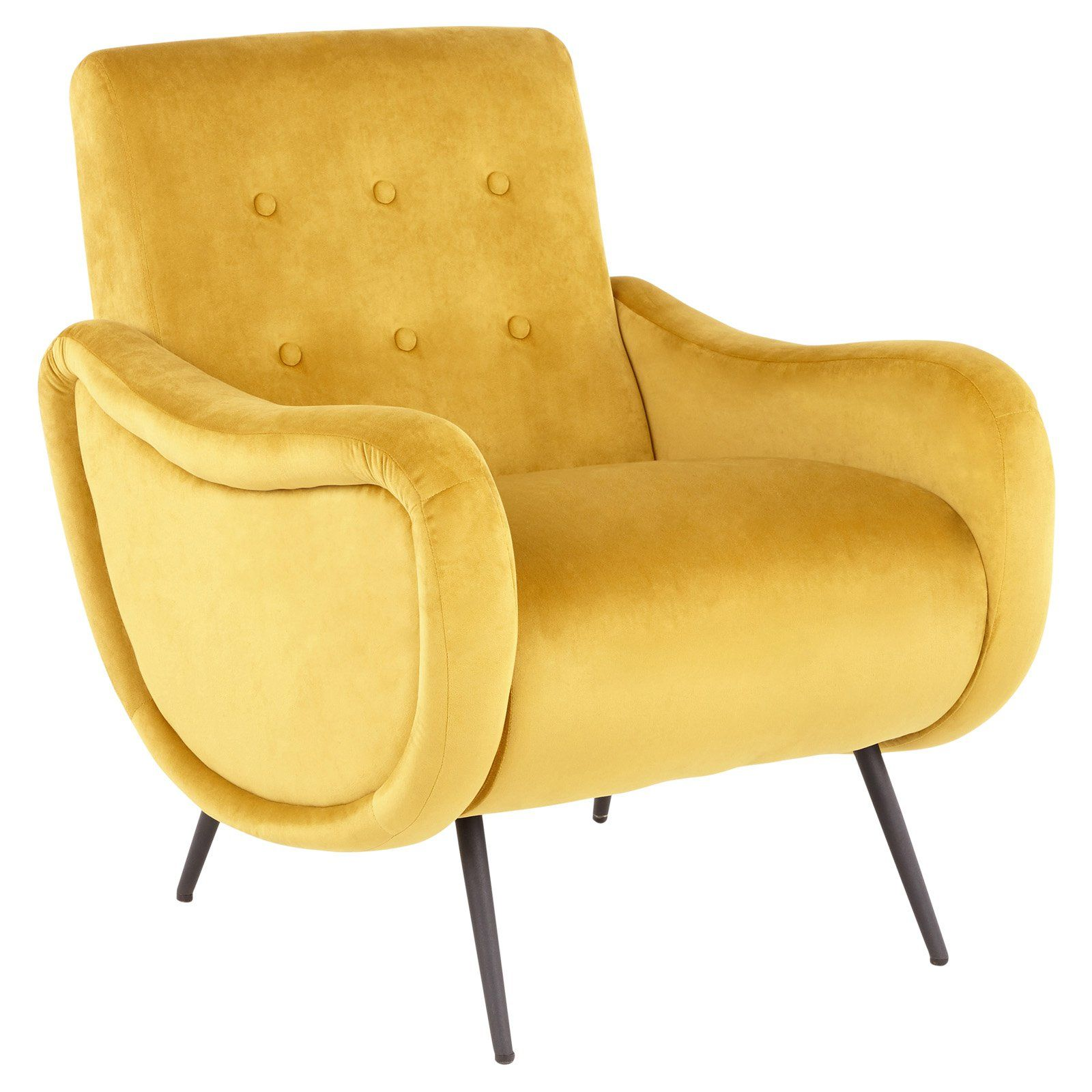Lumisource Rafael Contemporary Lounge Chair Yellow In 2019