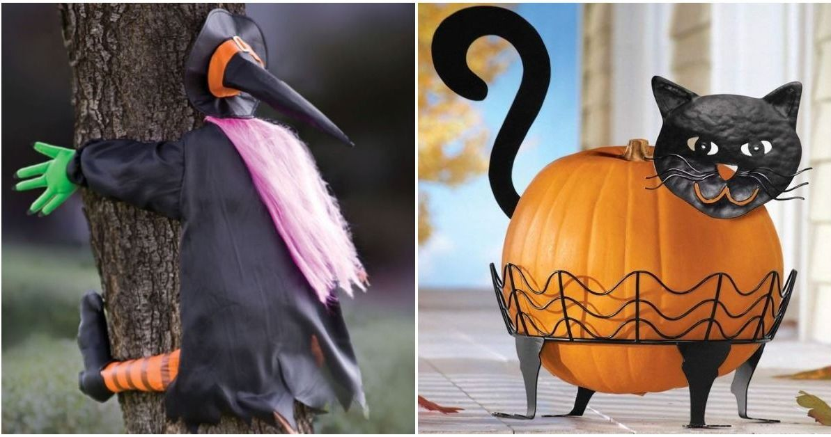 31 Thrifty And Fun Halloween Decorations To Spook Your Neighbors Fun Halloween Decor Halloween Decorations Scary Halloween Decorations