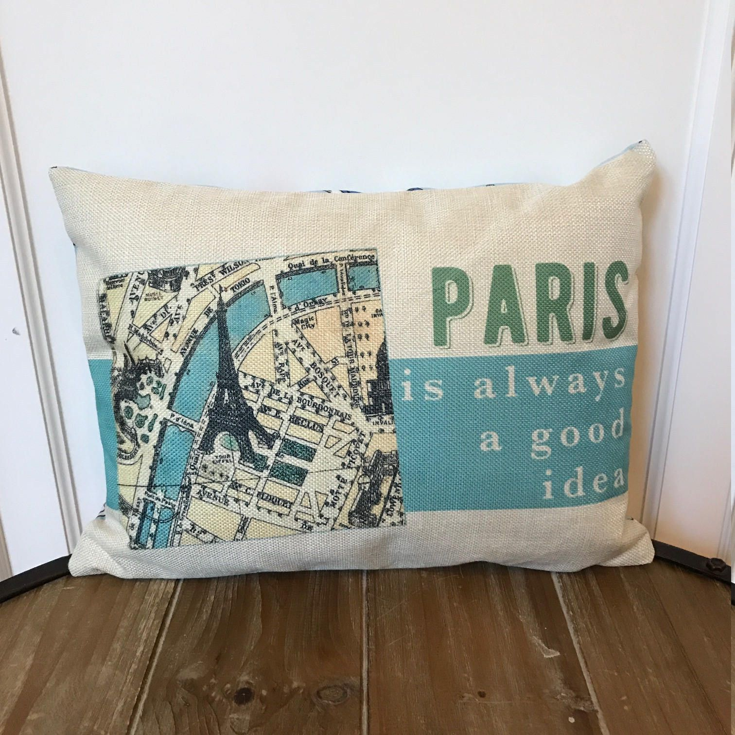 Paris Pillow Paris Is Always A Good Idea Pillow Audrey Hepburn