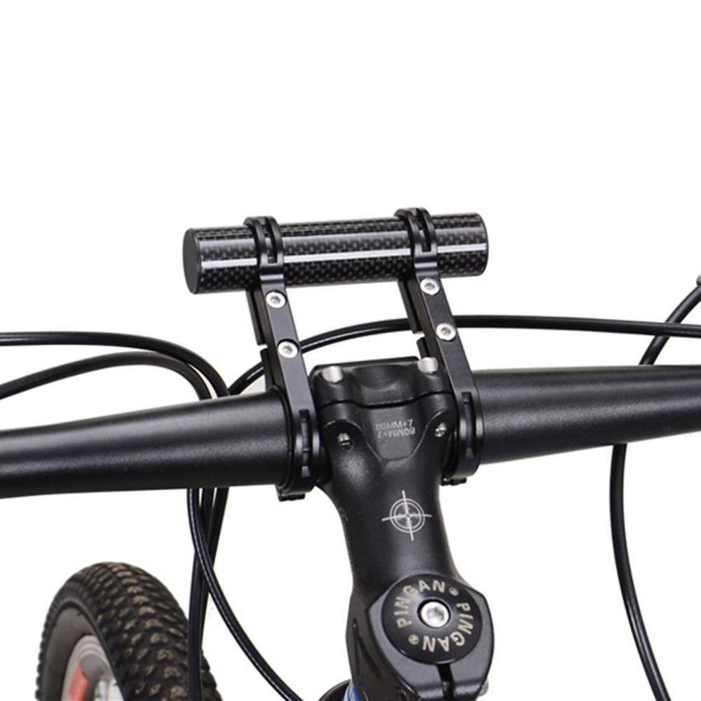 MTB Bike Flashlight Holder Handle Bar Bicycle Accessories Extender Mount Bracket
