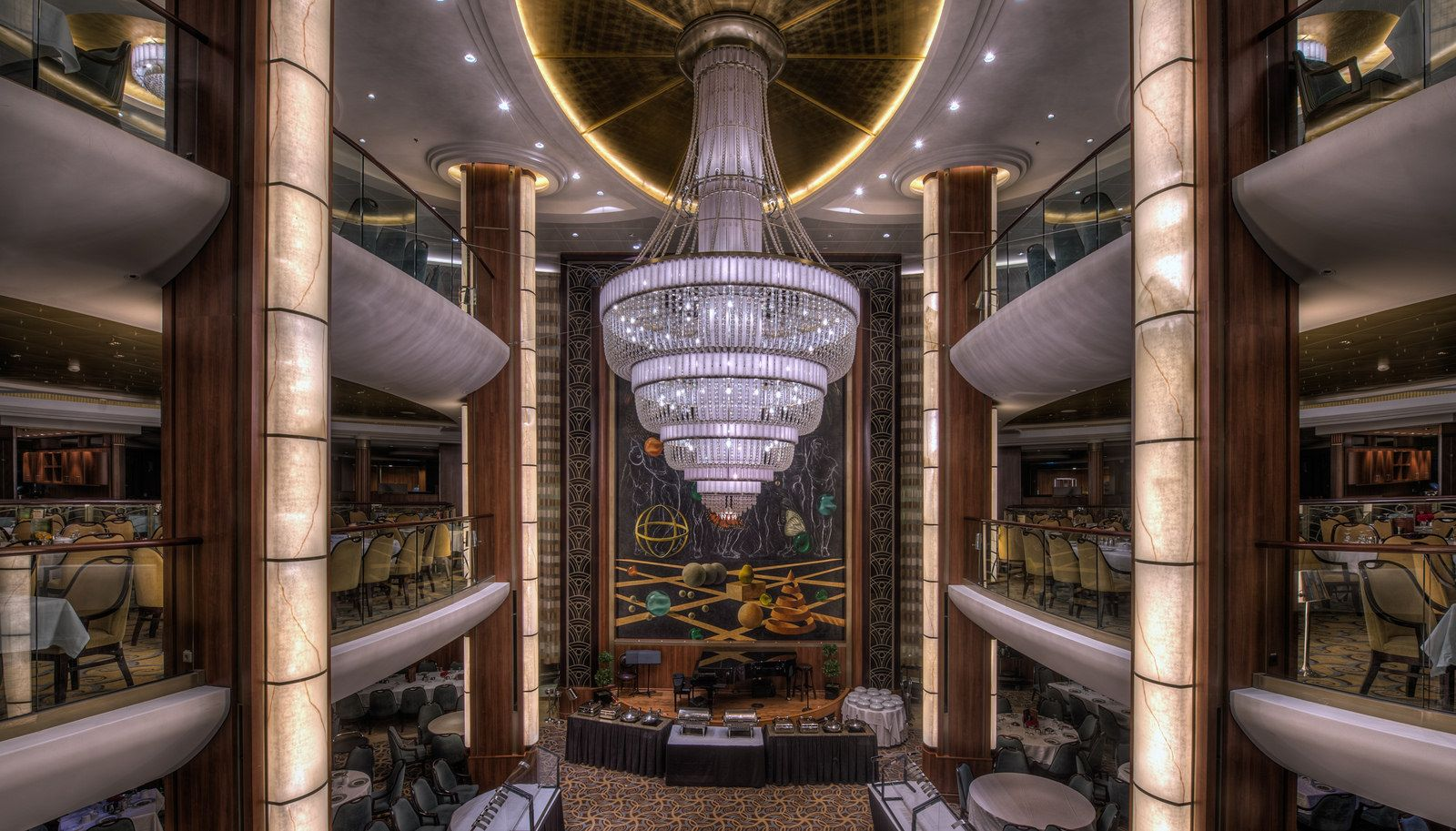 Oasis of the Seas - Opus Dining Room | Oasis, Cruises and Royal ...