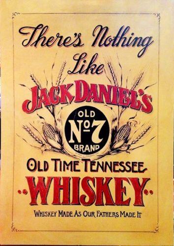 JACK-DANIEL-HONEY-Vintage-Sign-A4-Poster-Bar-Pub-Retro-Wall-Home-Art ...