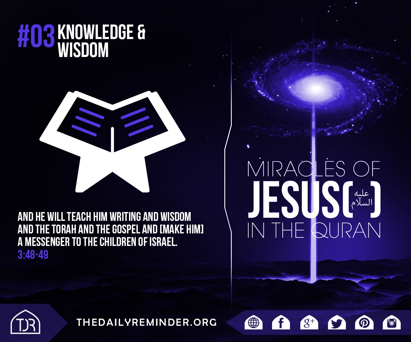 miracles of quran essay Quran has not only shown miracle in that era but also having shown many in this  era i will only give readers some simple examples of some mathematical.