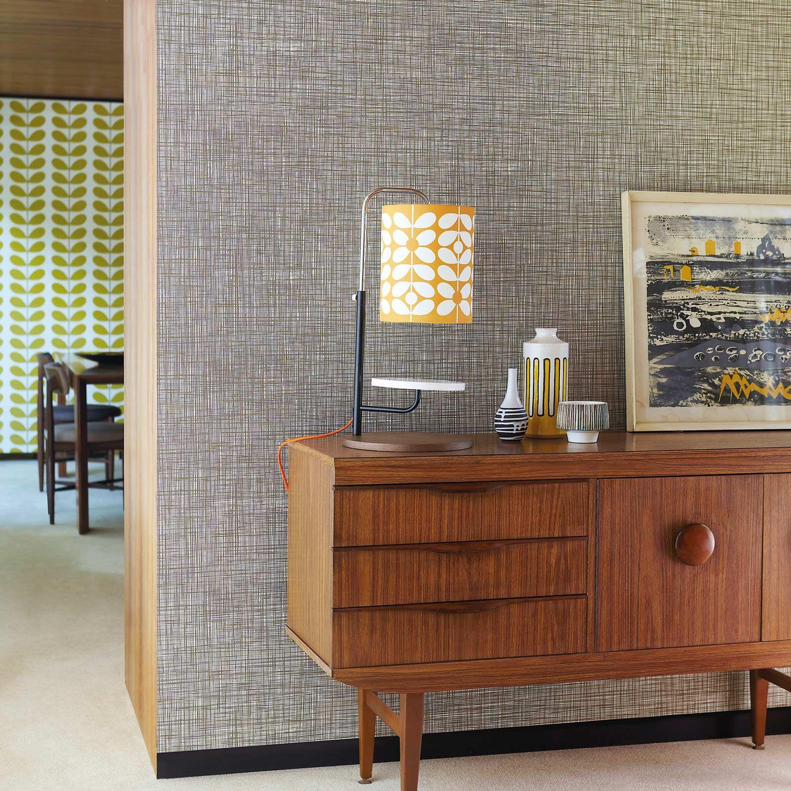 "Orla Kiely ""Scribbel"" Wallpaper Mid century modern"