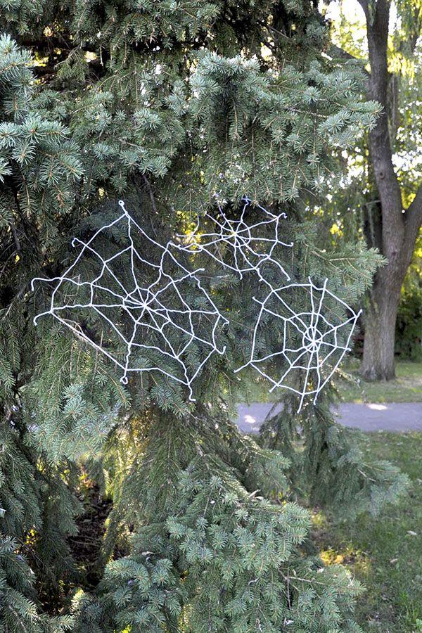 spiderwebdone3_600jpg 600×900 pixels Halloween! Pinterest - spider web halloween decoration
