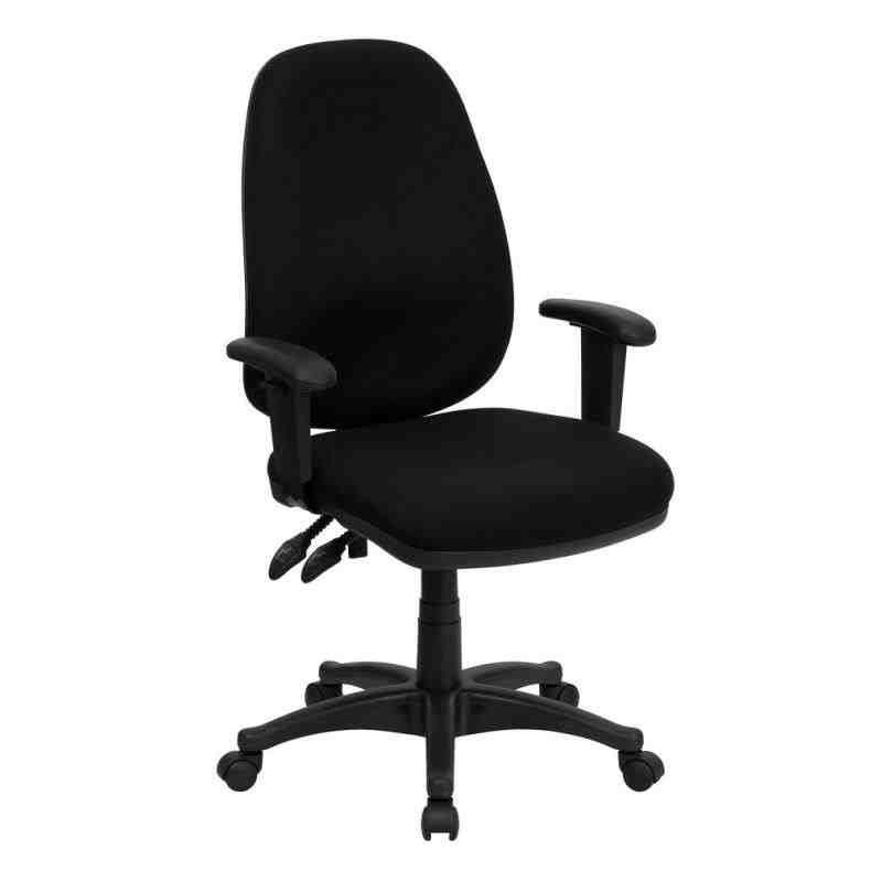 Featuring A Waterfall Swivel Seat That Is Contoured For Maximum Comfort The Upholstered Office Chair From Flash Furniture Perfect Upgrade Your Home