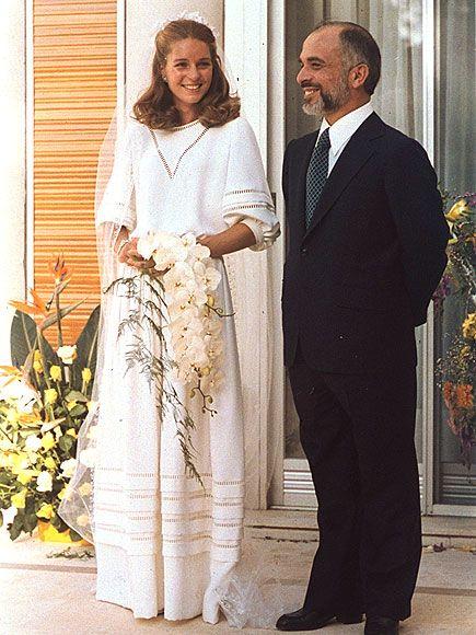 Queen Noor of Jordan Wedding