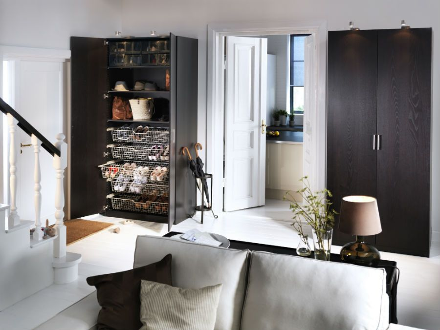 Pax System Combinations Including Interior Organizers Ikea Ikea Living Room Stylish Living Room Home #wardrobe #in #the #living #room