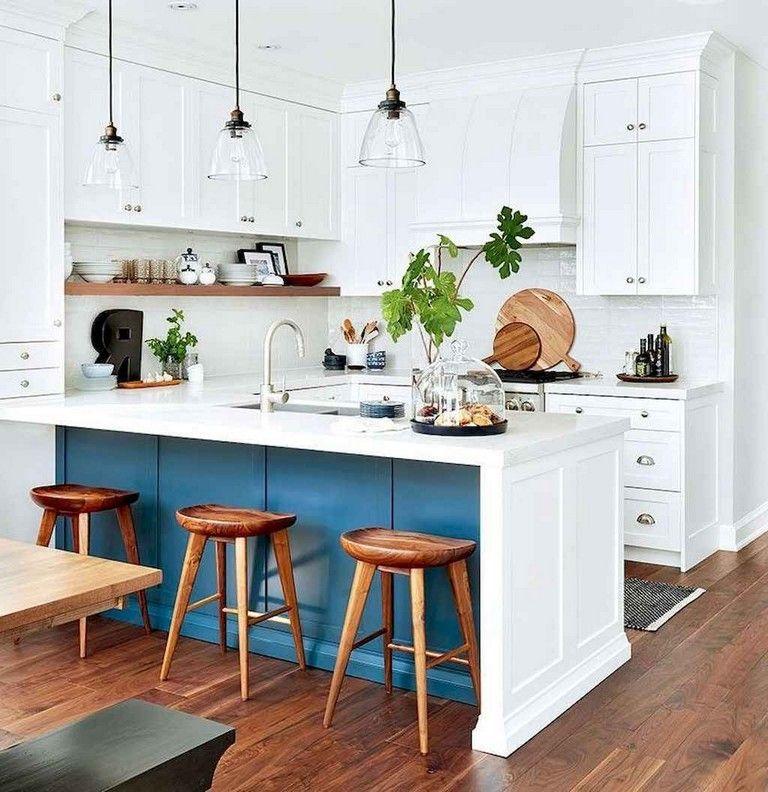 67 gorgeous white kitchen cabinets decor ideas small u shaped kitchens kitchen remodel on kitchen ideas u shaped id=79884