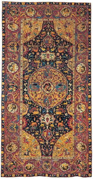 Sanguszko Safavid Carpet Late 16th Century Miho Museum