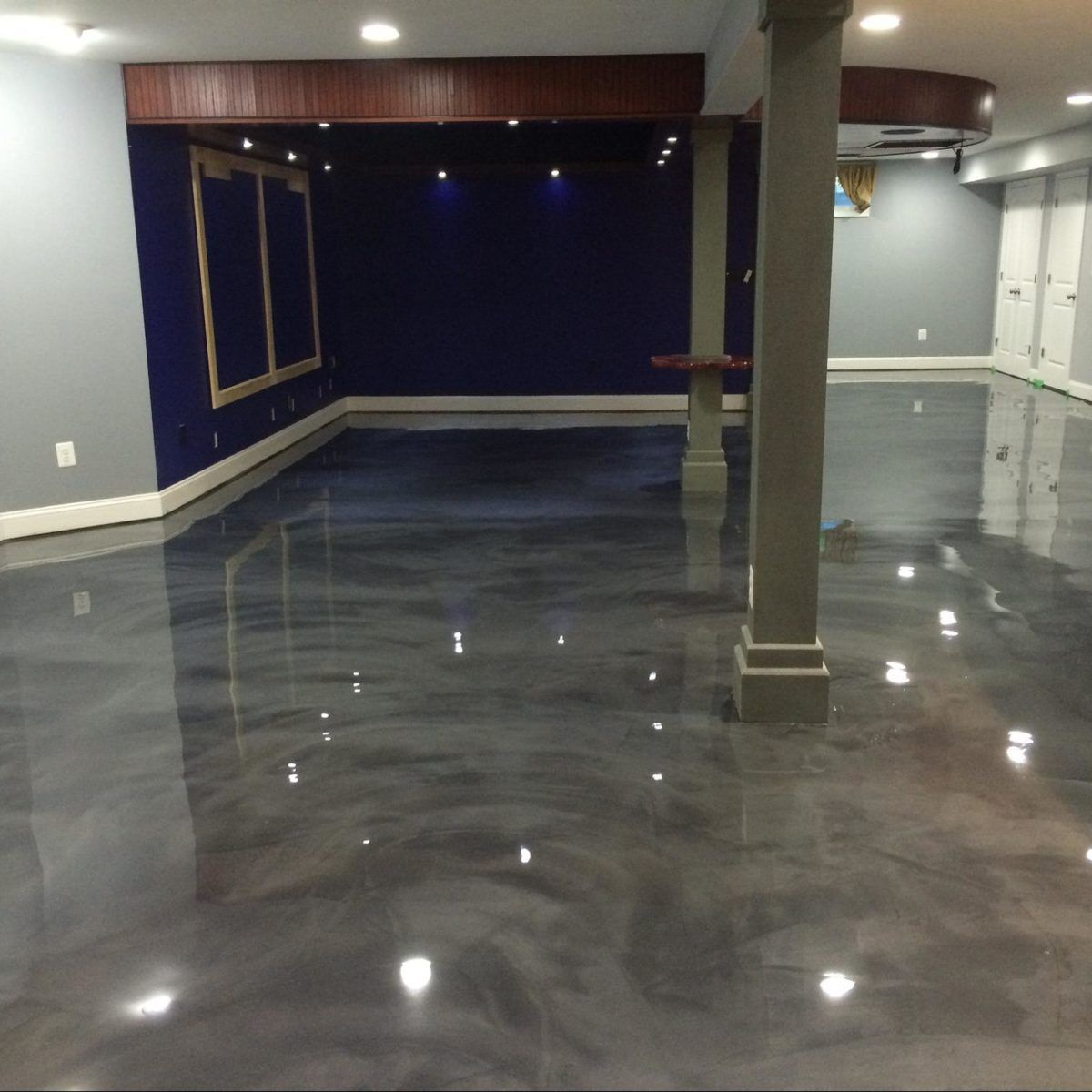 3 Reasons Why Epoxy Floors Fit Perfectly In Houston S Warm Climate Epoxy Floor Epoxy Floor Basement Bathroom Flooring