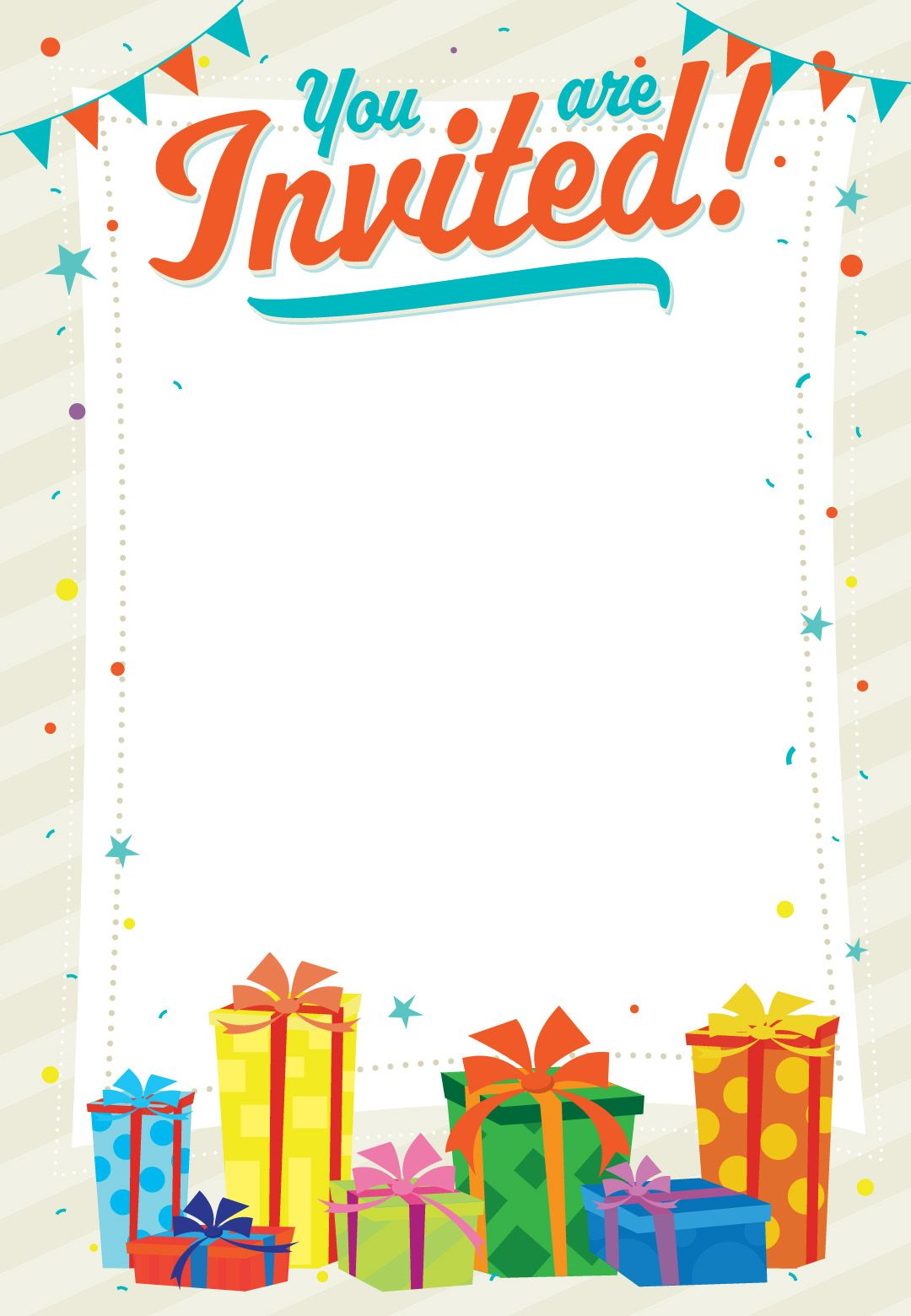 party invitation maker online free printable
