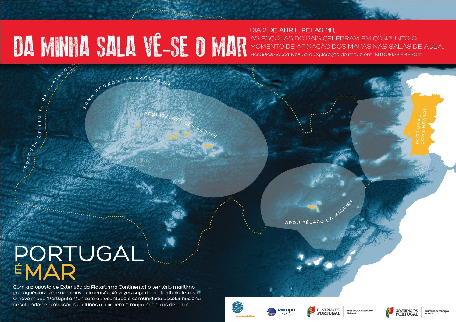 "mapa maritimo de portugal Mapa – ""Portugal é Mar"" | DGEstE | GEOGRAPHY for toddlers  mapa maritimo de portugal"