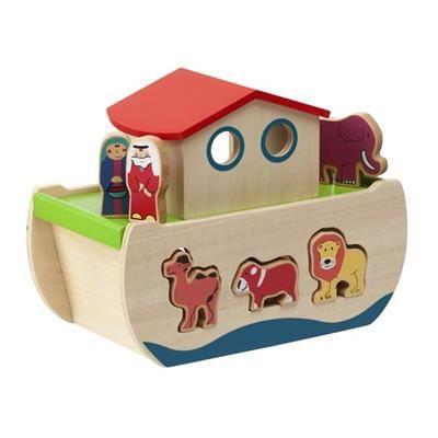Image for Noah's Ark Wooden Shape Sorter from Kmart