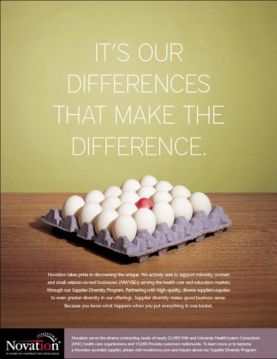 this diversity ad was created to show that diversity in
