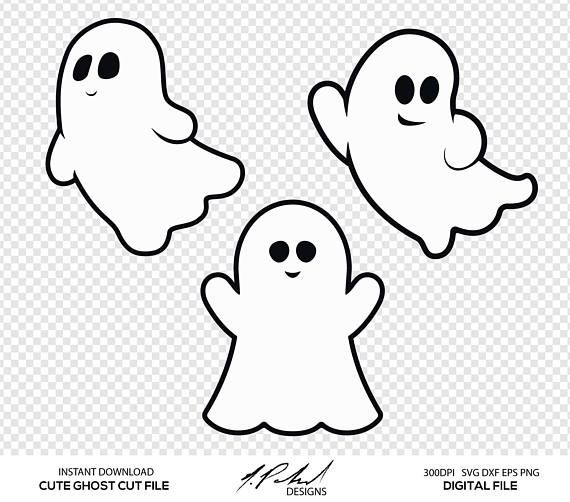 cute ghost digital cut files digital files ghost svg dxf png eps rh pinterest com ghost clipart png ghost clip art free