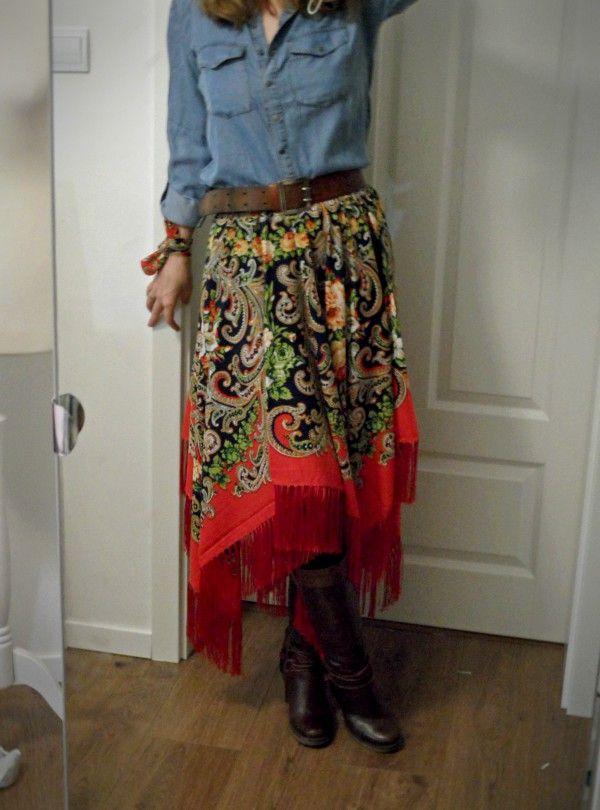 Spodnica Goralska Spodnica Ludowa Spodnica Etno Spodnica Folkowa Fashion Maxi Skirt Skirts