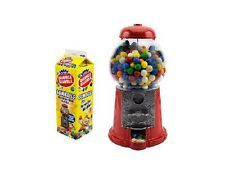 Dispensador de chicles retro 23 cm incl. 454 gramos de chicles Dubble Bubble