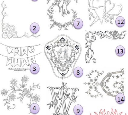 Silk Ribbon Embroidery Free Patterns Designs Ribbon Embroidery