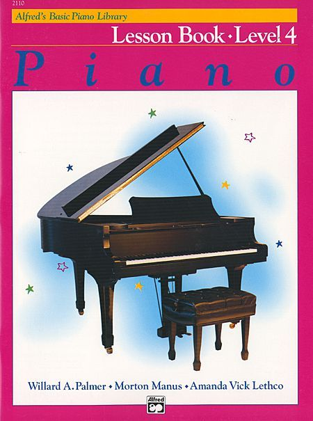 Alfred S Basic Piano Course Lesson Book Level 4 With Images