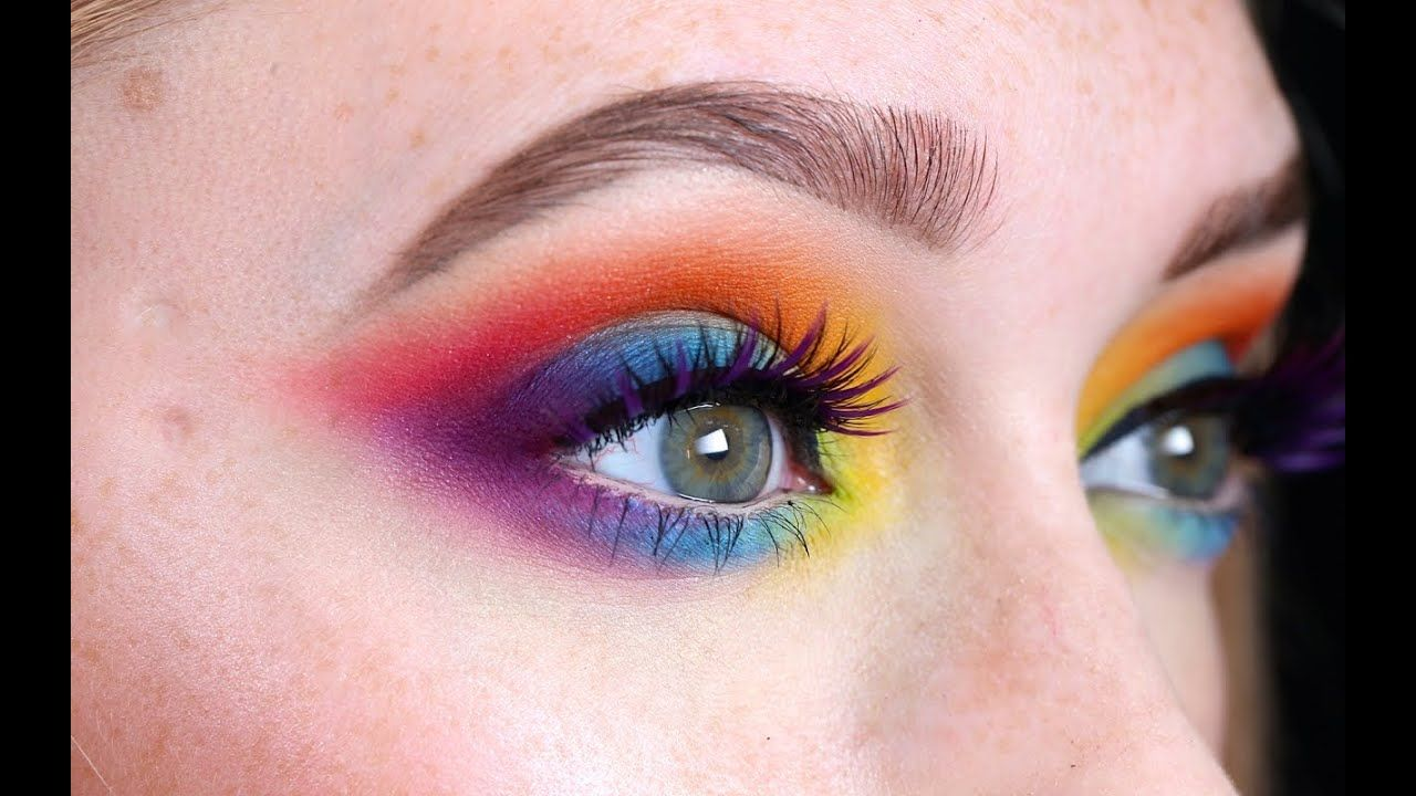 Pride Rainbow Inspired Makeup JkissaMakeup YouTube