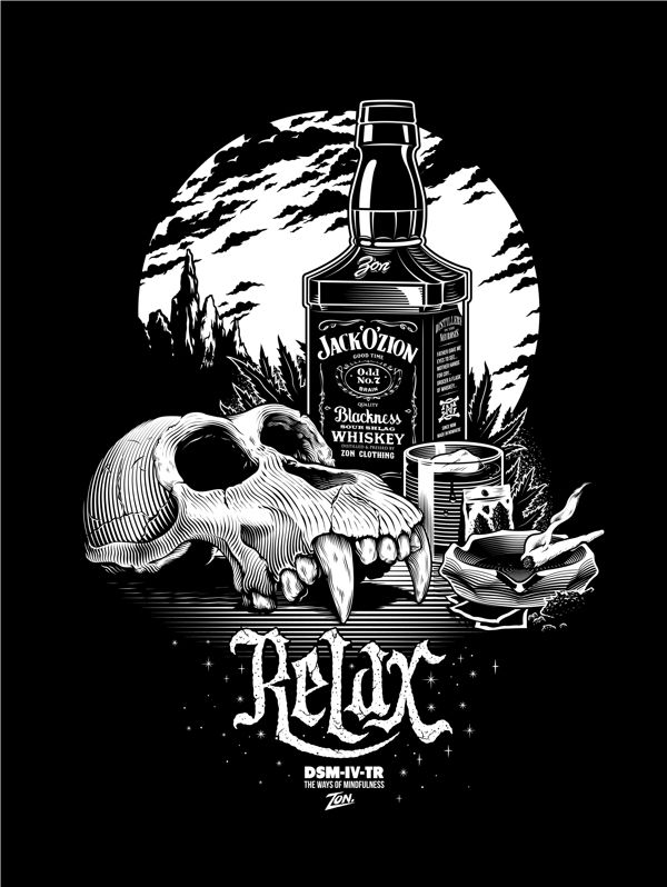 Rexaxxx By Laval Jonathan Via Behance Skull Art Illustration Art Graphic Design Illustration