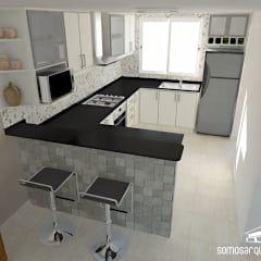 Cozinhas modernas por Somos Arquitectura