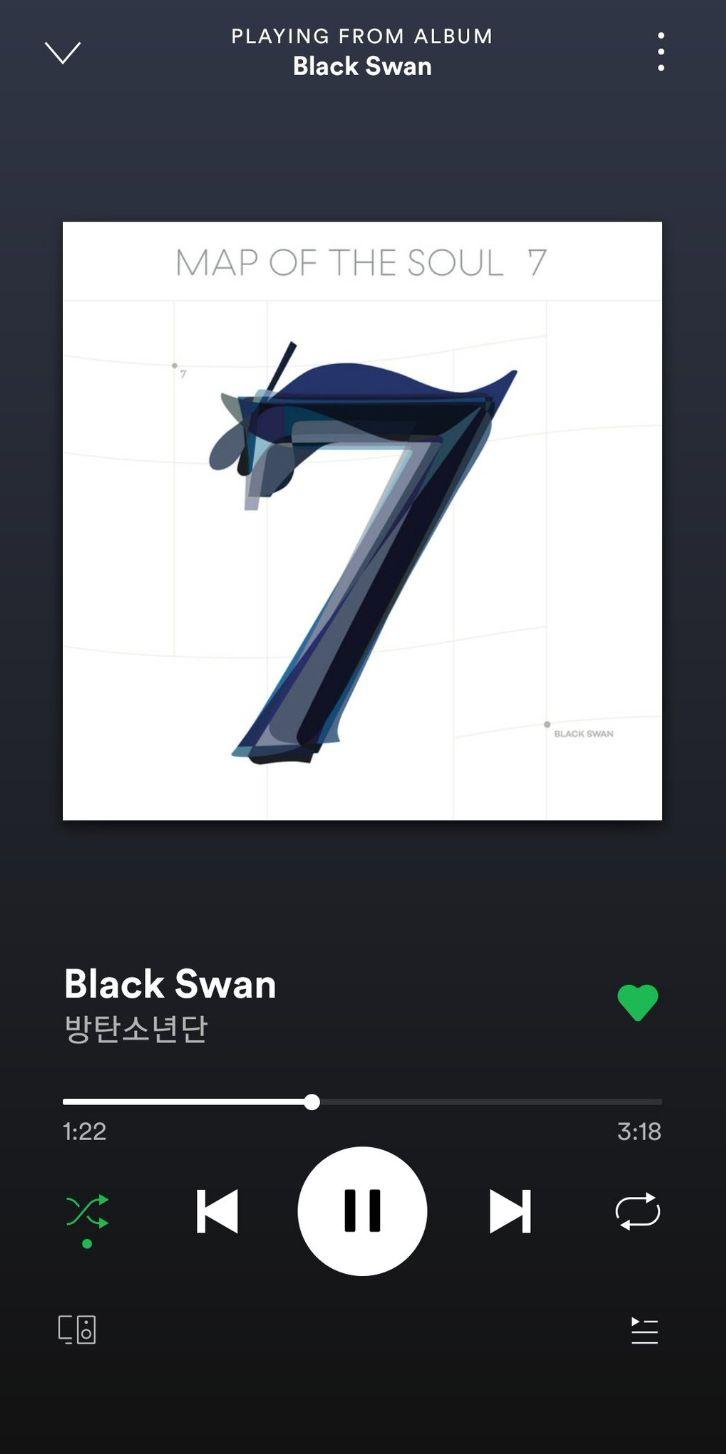 #BlackSwan in 2020 | Bts playlist, Bts wallpaper, Bts