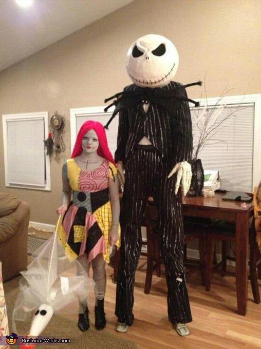Jack and sally skellington halloween costume contest at costume jack and sally skellington halloween costume contest at costume works diy couples costumescouple solutioingenieria Gallery