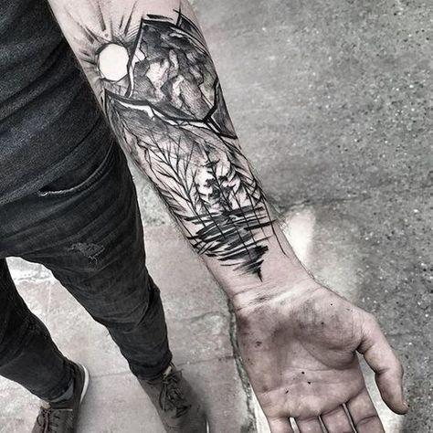 1001 + coole Vorlagen und Motive für Tattoos für Männer