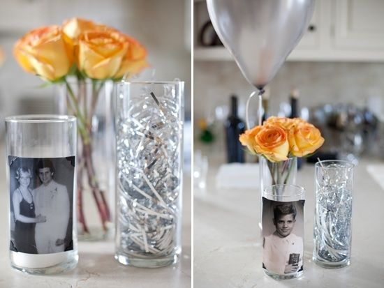Birthday Centerpieces for Men  60th Birthday Party decoration ideas ...