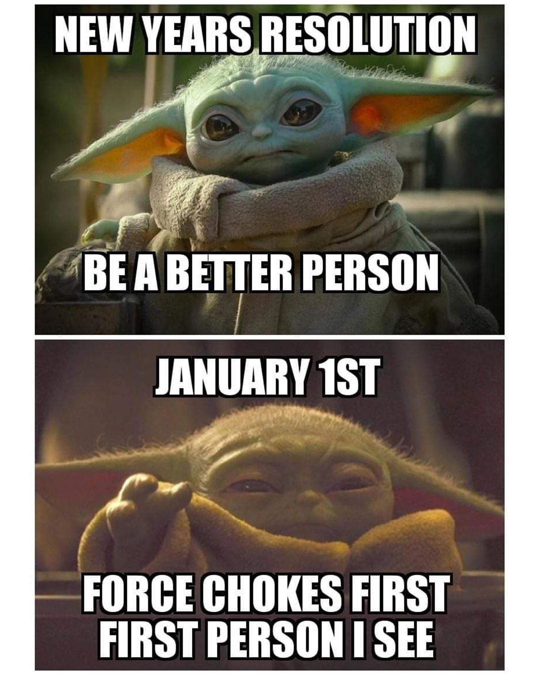 Amanda Starwarsfangirl On Instagram At Work Less Than An Hour This Morning And Wanted To Do This Babyyoda Yoda Funny Funny Star Wars Memes Yoda Meme