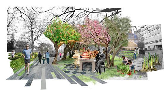 Landscape Architecture Drawings vauxhall missing link shortlist announced « world landscape