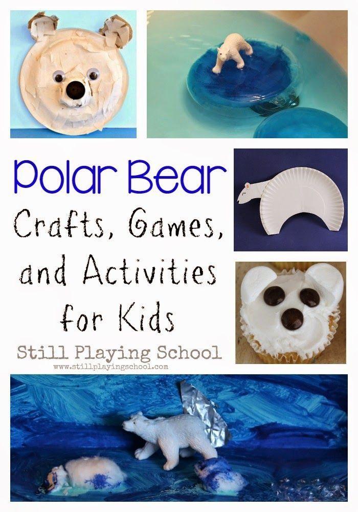 Polar Bear Crafts Activities For Kids Science Polar Animals
