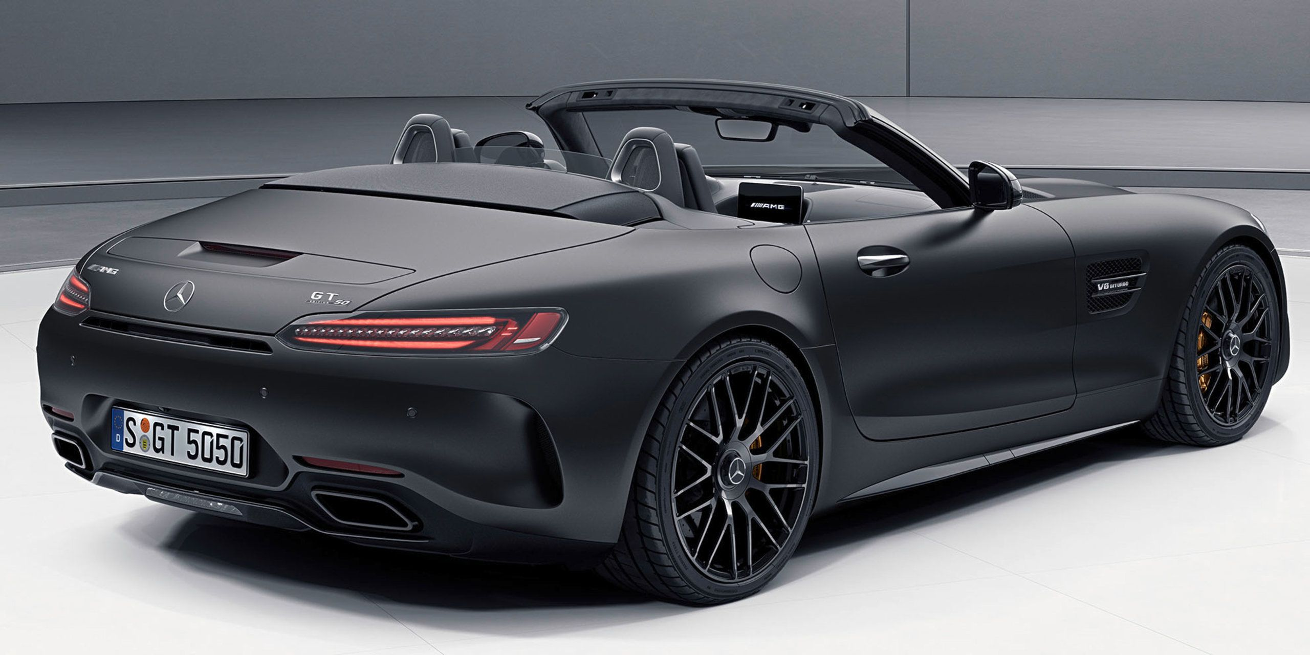 The Mercedes Amg Roadster Gt C Roadster Edition 50 Mit Bildern