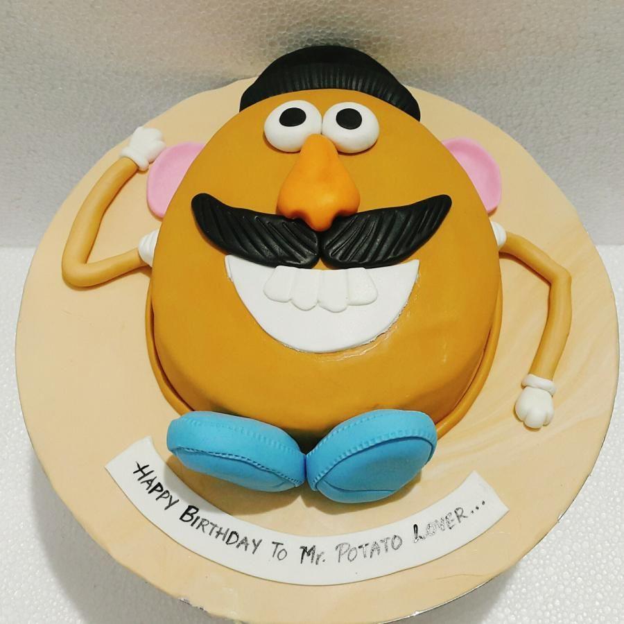 Surprising Hello Mr Potato By Urvi Zaveri With Images Novelty Cakes Personalised Birthday Cards Veneteletsinfo